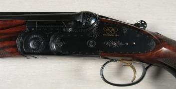 Sovrapposto Beretta mod. SO4 Los Angeles (Custom) cal. 12 - Cod. 430